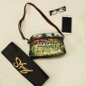 Sharif Canvas Crossbody